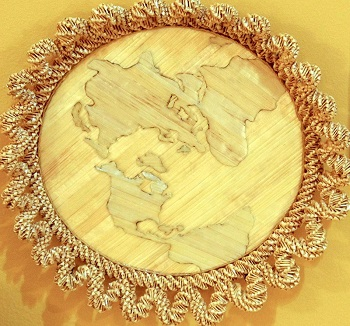 One World Trinket Tray by Nan Rohan